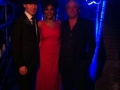 Arjan-M, Alex van Oostrom en Mavis Acquah @ James Bond Party (6 december 2012)