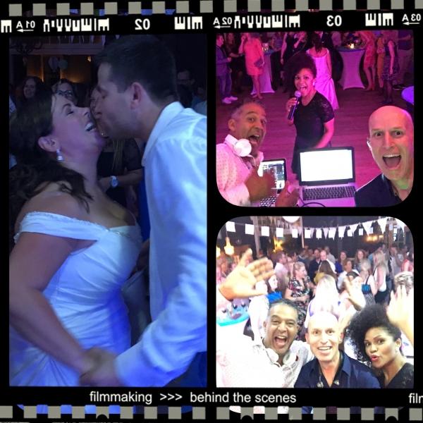 Arjan-M, DJ Keb & Mavis @ Wedding Jolinda & Arjan
