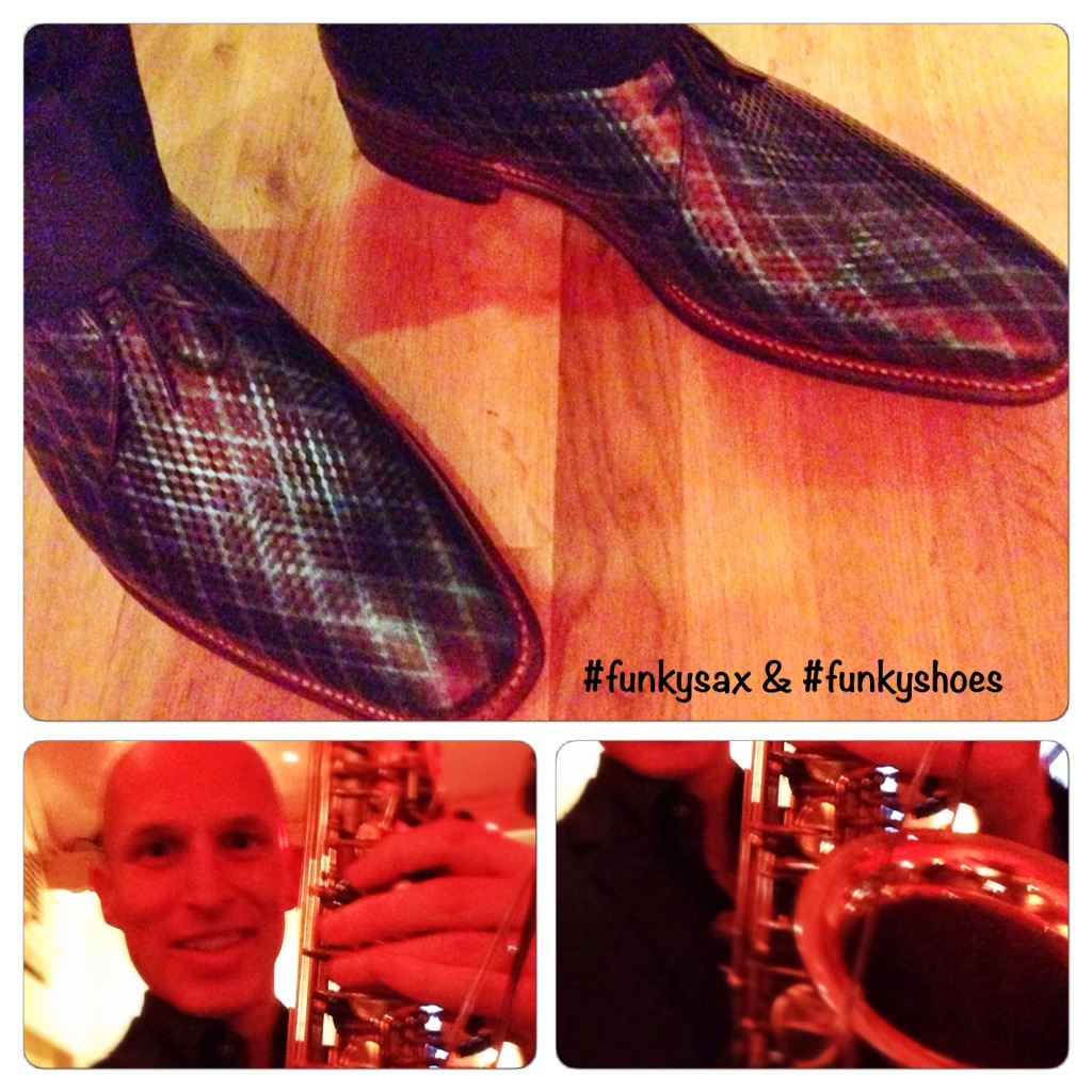 #funkysax & #funkyshoes